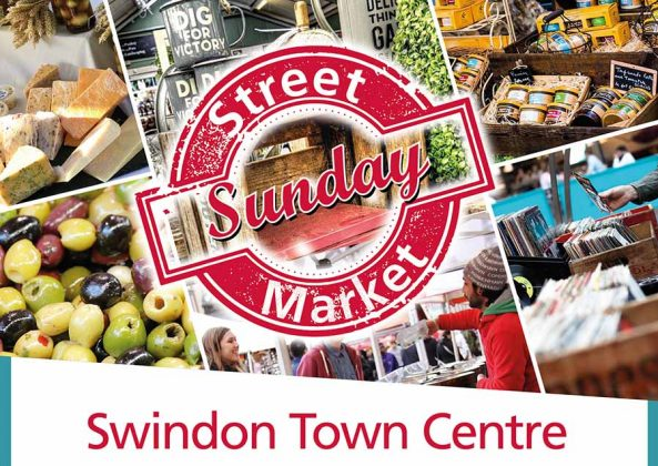 Swindon Town Centre - Food Market