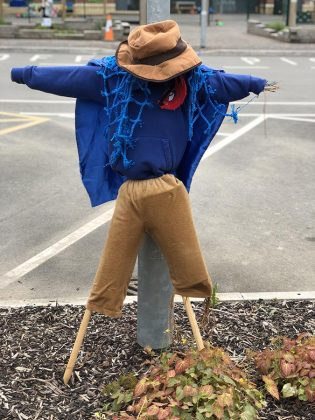 Superhero Scarecrow competition Swindon