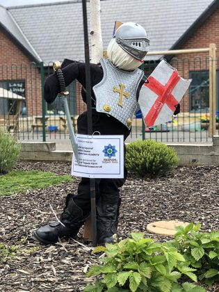 Superhero Scarecrow competition Swindon