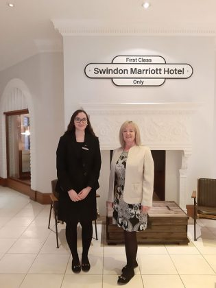 Swindon Marriott Hotel announces Jessie May as Charity of the Year