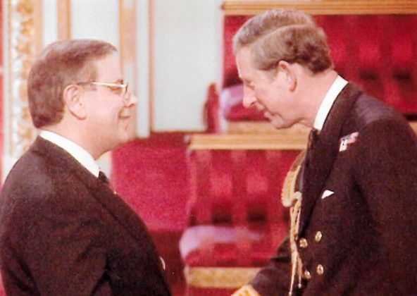 Francis Wakem - HRH The Prince of Wales - 8 May 1998