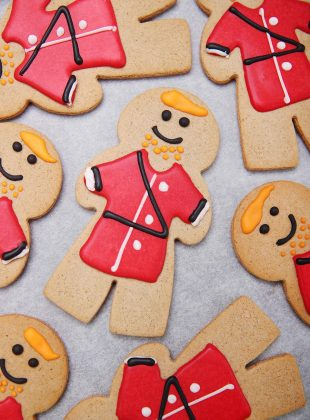 Morrisons is selling a Gingerbread Prince to mark Prince Harry's first Father's Day after the birth of the Royal couple's first child.