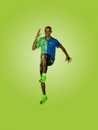 SIR MO FARAH'S NEW MOTION FITNESS CLASS