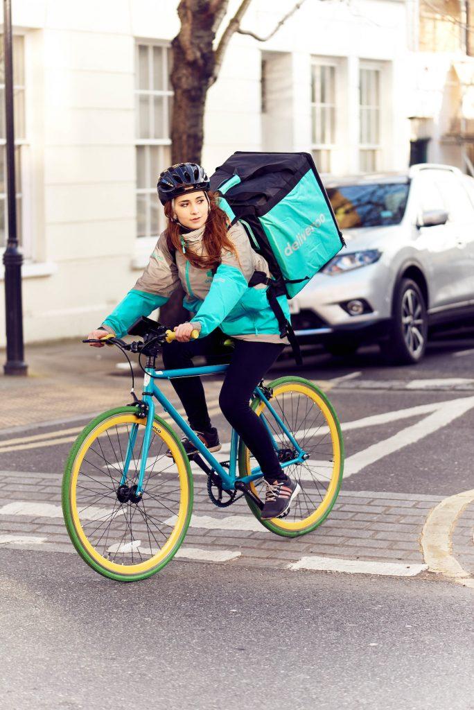 Deliveroo Swindon rider