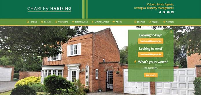Charles Harding Estate Agents Website