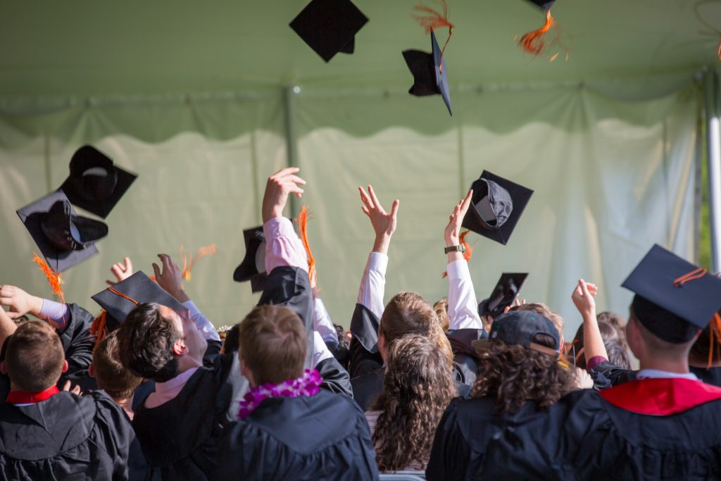 people graduating UK