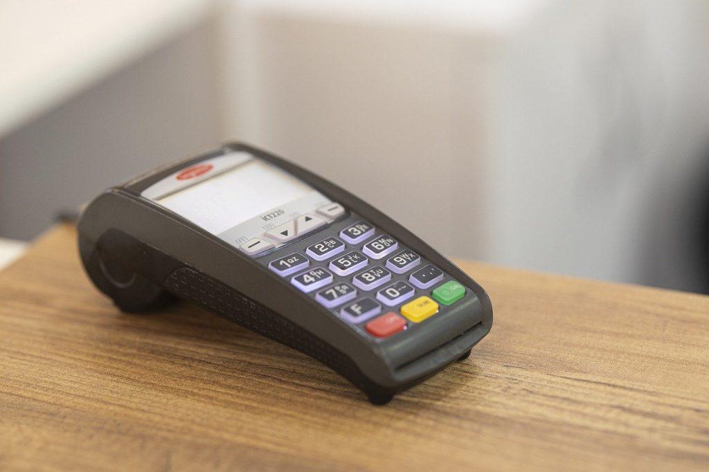 POS card machine