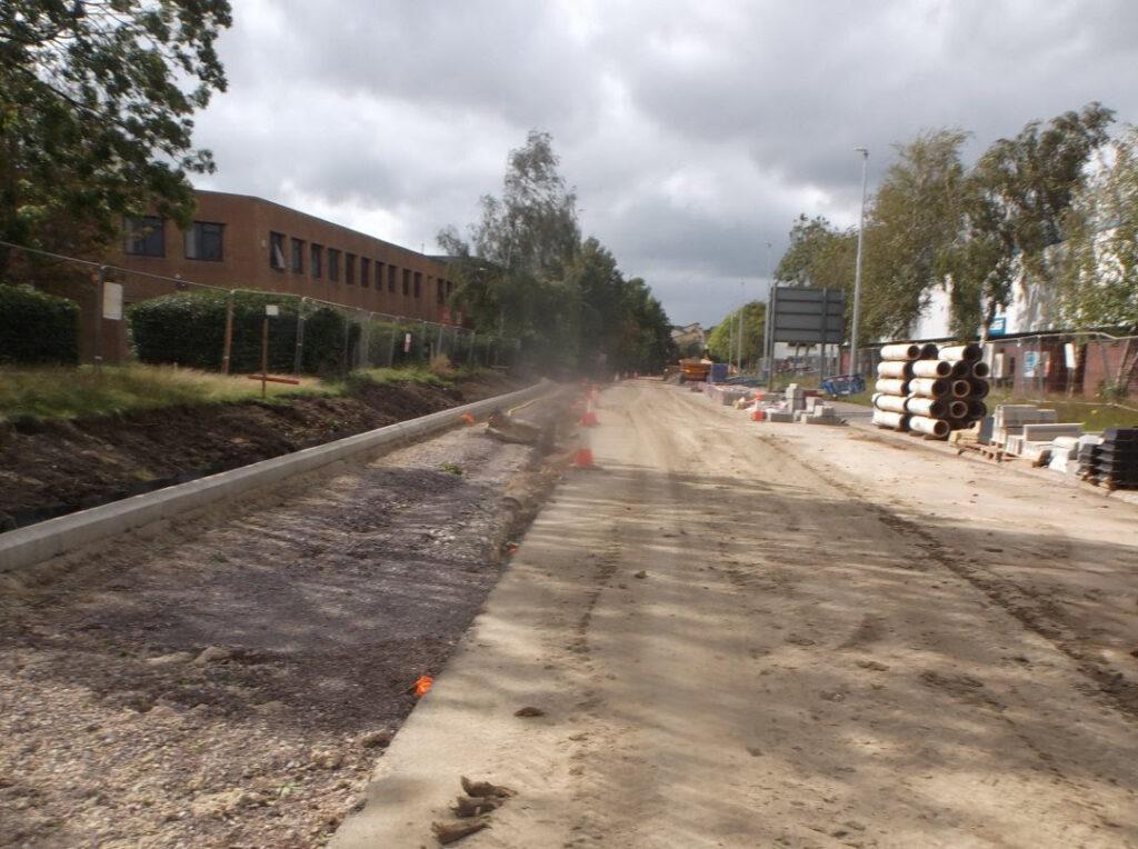 mead way swindon road improvements